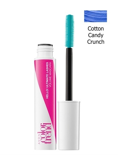Avon Avon Hello! Ultimate Lashes Maskara Cotton Candy Crunch Mavi